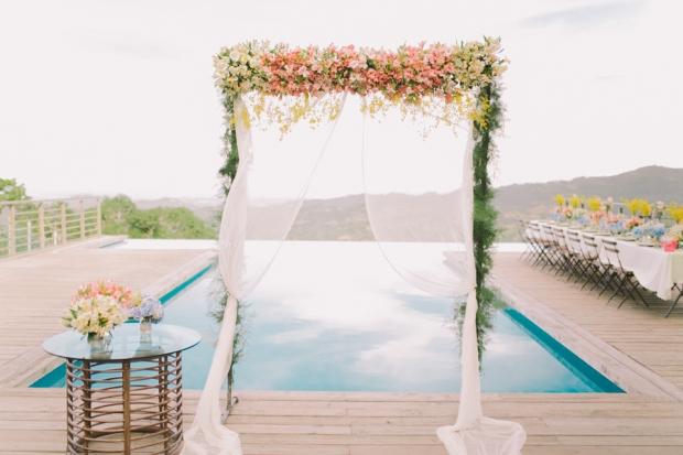 Cuckoo Cloud Concepts Jayson and Charm Secret Wedding Rancho Cancio Cebu Wedding Stylist Bohemian Elegance Event Styling Lush Bouquet Intimate -8