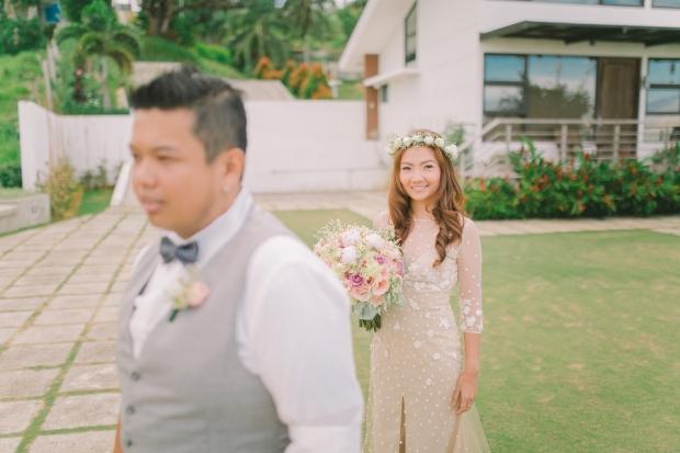 Cuckoo Cloud Concepts Jayson and Charm Secret Wedding Rancho Cancio Cebu Wedding Stylist Bohemian Elegance Event Styling Lush Bouquet Intimate -9