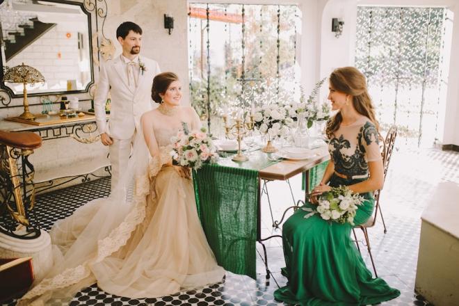 Cuckoo Cloud Concepts Bride and Breakfast Editorial Lavished Marlon Capuyan Regal Emerald Green Montebello Ronald Enrico-15