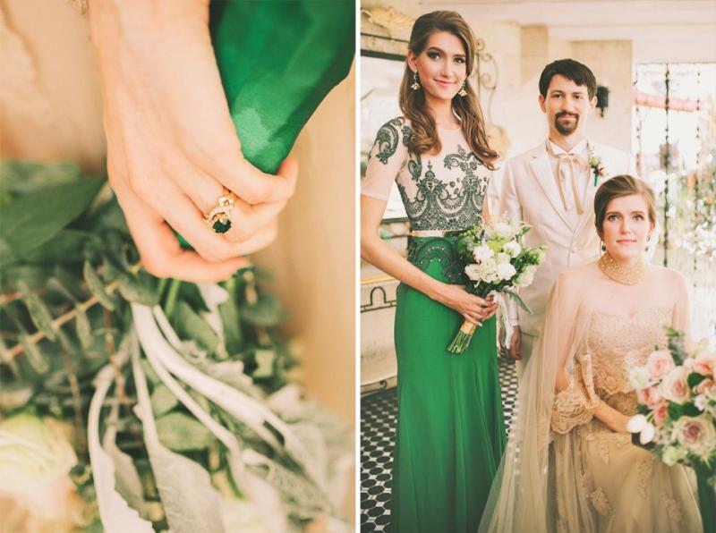 Cuckoo Cloud Concepts Bride and Breakfast Editorial Lavished Marlon Capuyan Regal Emerald Green Montebello Ronald Enrico-19
