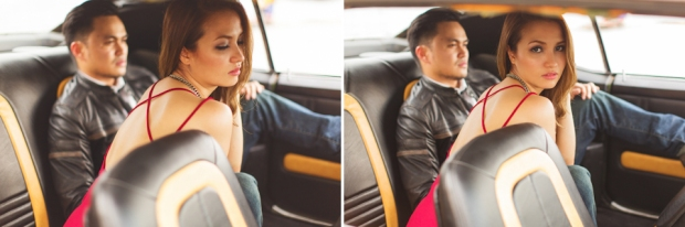 Cuckoo Cloud Concepts Francis and April Engagement Session Grunge Sports Car Edgy -27