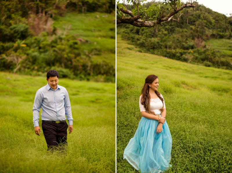 Cuckoo Cloud Concepts Edsel and Nat Engagement Session Alice in Wonderland Oriental Vintage House Open Field Teacups Clocks Blue Dress-55
