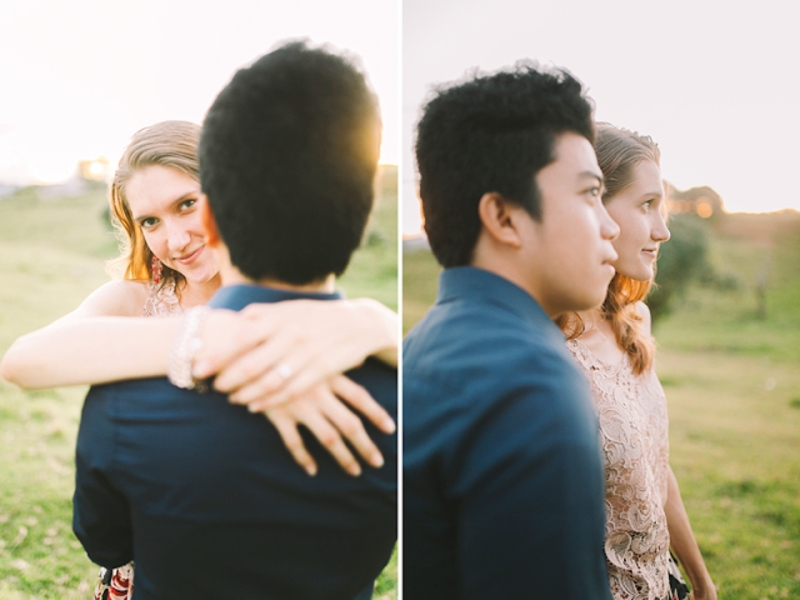 Cuckoo Cloud Concepts Gabriel Amy Engagement Session Country Girl Cowboy Boots City Boy Mountains Sunset-17