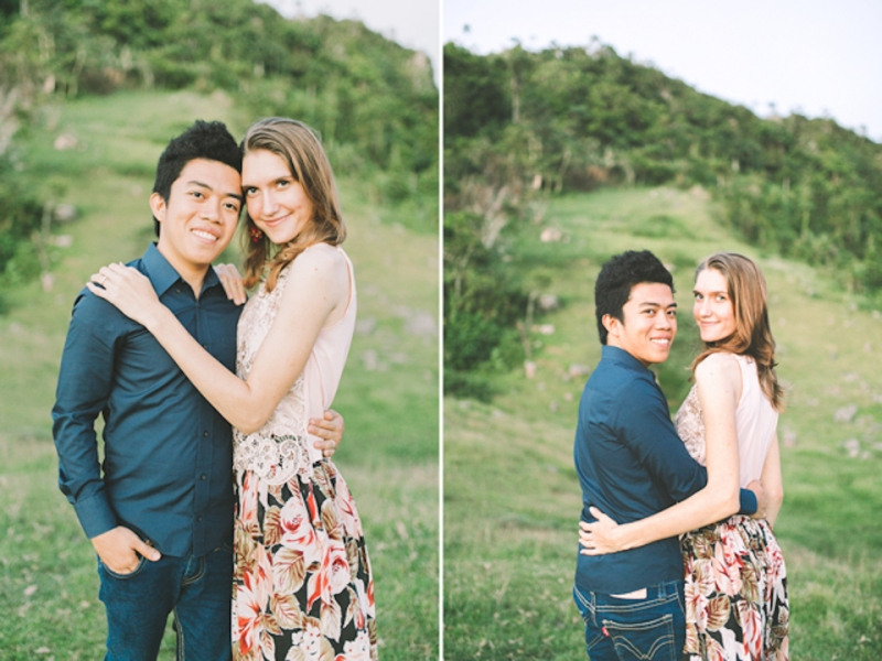 Cuckoo Cloud Concepts Gabriel Amy Engagement Session Country Girl Cowboy Boots City Boy Mountains Sunset-20