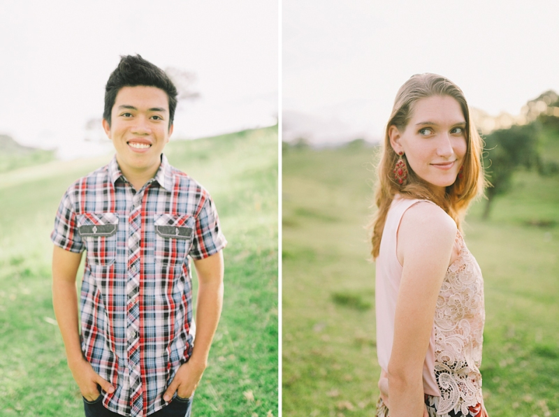 Cuckoo Cloud Concepts Gabriel Amy Engagement Session Country Girl Cowboy Boots City Boy Mountains Sunset-22