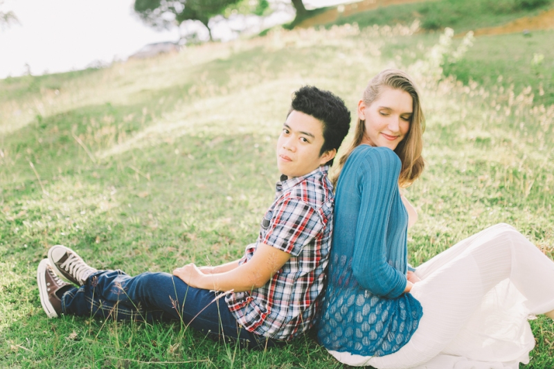 Cuckoo Cloud Concepts Gabriel Amy Engagement Session Country Girl Cowboy Boots City Boy Mountains Sunset-6