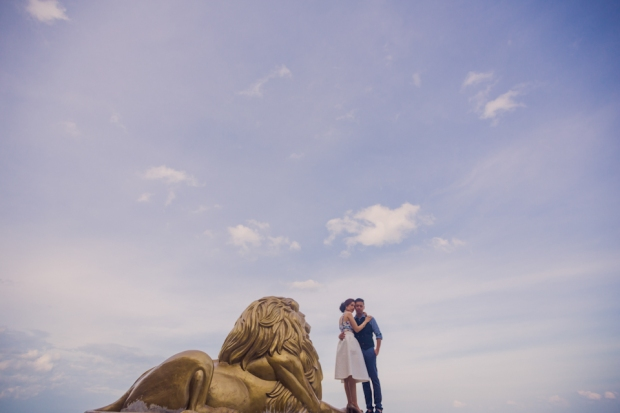 Cuckoo Cloud Concepts Jay and Danica City Engagement Session Old Cebu New Cebu Temple of Leah Rizal Library Tops Engagement Session RPS Cebu Wedding Stylist -25
