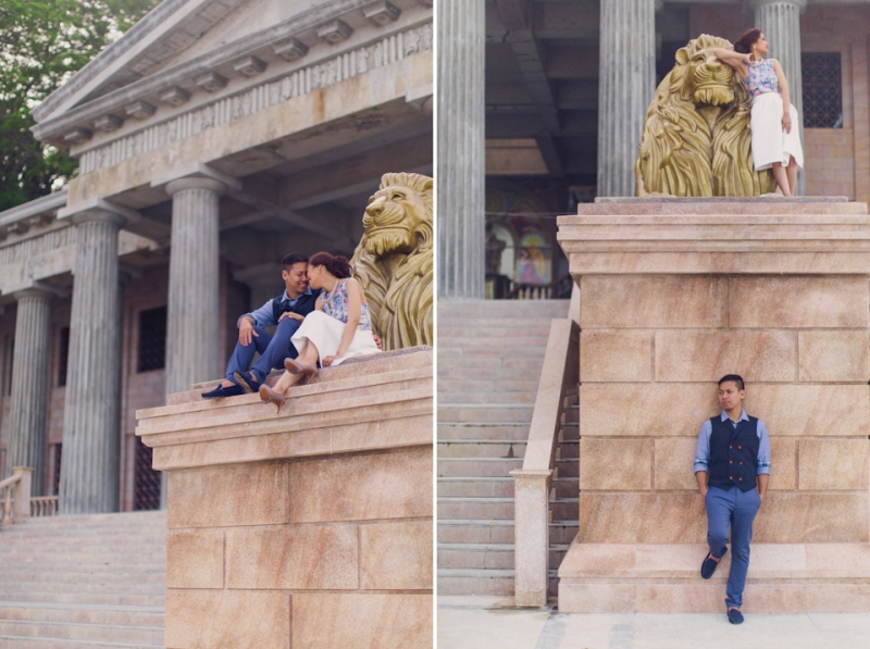 Cuckoo Cloud Concepts Jay and Danica City Engagement Session Old Cebu New Cebu Temple of Leah Rizal Library Tops Engagement Session RPS Cebu Wedding Stylist -48