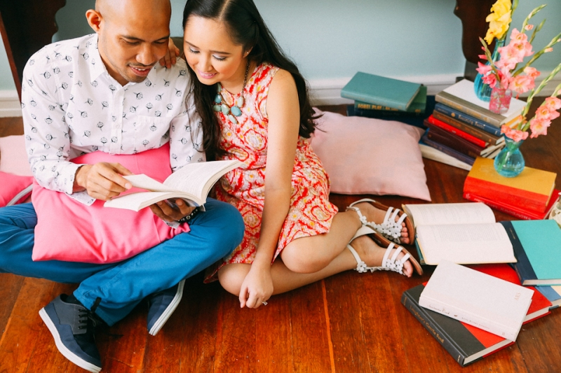 Cuckoo Cloud Concepts Terence Kimy Engagement Session Books Music Ukele Mountain Cebu Wedding Stylist -1