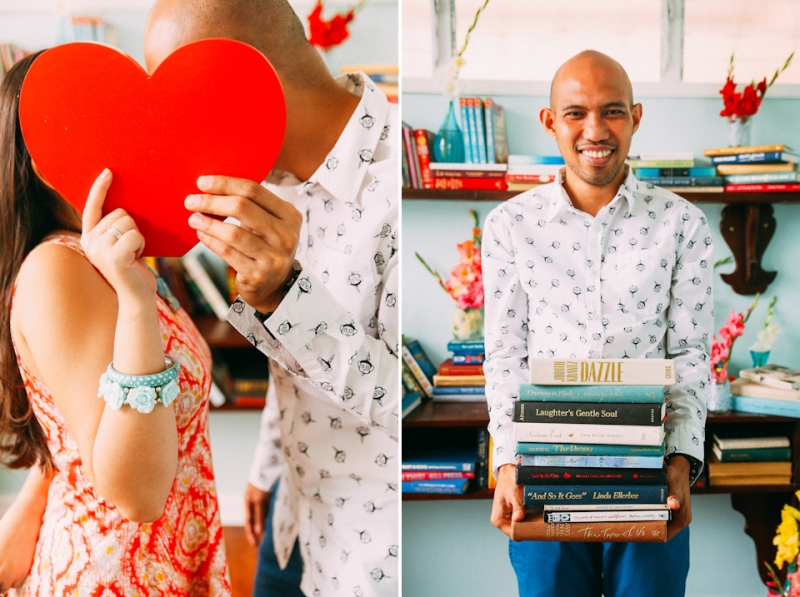 Cuckoo Cloud Concepts Terence Kimy Engagement Session Books Music Ukele Mountain Cebu Wedding Stylist -30