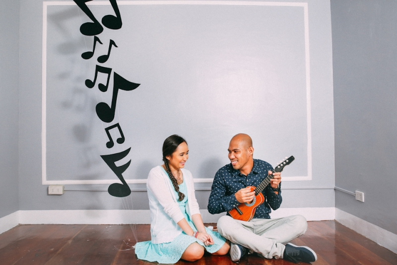 Cuckoo Cloud Concepts Terence Kimy Engagement Session Books Music Ukele Mountain Cebu Wedding Stylist -7