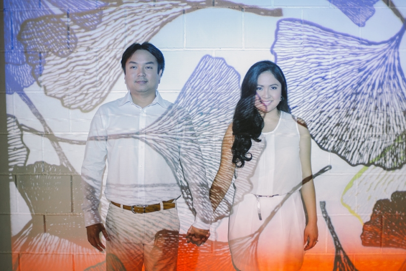 Cuckoo Cloud Concepts Julius and Pavirly Engagement Session Balloons Field Projected Images Colorful Fringes-23