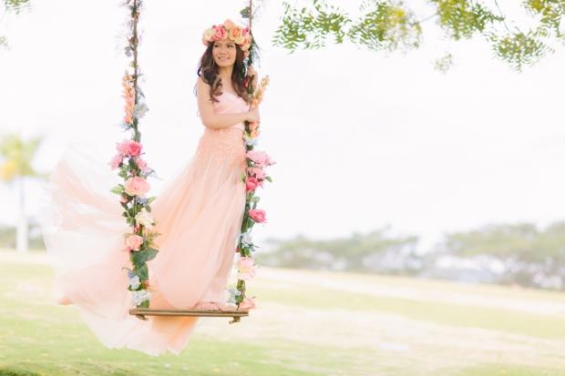 Cuckoo Cloud Concepts Alexis Mendoza Debut Photoshoot Whimsical Fairytale Princess and the Pea Pod Flowers Cebu Stylist -11
