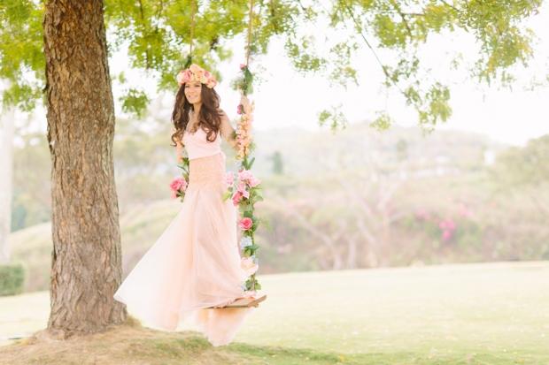 Cuckoo Cloud Concepts Alexis Mendoza Debut Photoshoot Whimsical Fairytale Princess and the Pea Pod Flowers Cebu Stylist -12