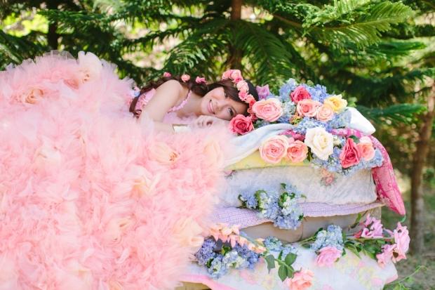 Cuckoo Cloud Concepts Alexis Mendoza Debut Photoshoot Whimsical Fairytale Princess and the Pea Pod Flowers Cebu Stylist -13
