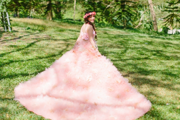 Cuckoo Cloud Concepts Alexis Mendoza Debut Photoshoot Whimsical Fairytale Princess and the Pea Pod Flowers Cebu Stylist -15