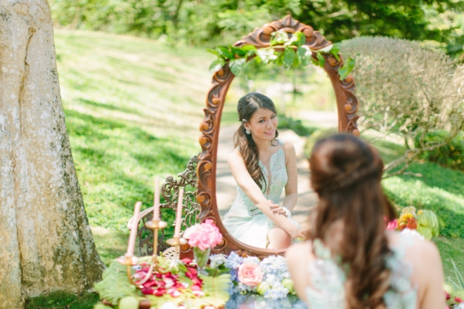 Cuckoo Cloud Concepts Alexis Mendoza Debut Photoshoot Whimsical Fairytale Princess and the Pea Pod Flowers Cebu Stylist -18