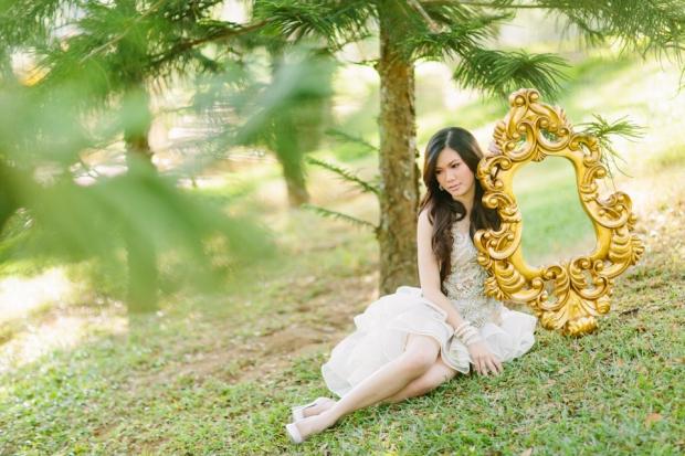 Cuckoo Cloud Concepts Alexis Mendoza Debut Photoshoot Whimsical Fairytale Princess and the Pea Pod Flowers Cebu Stylist -19