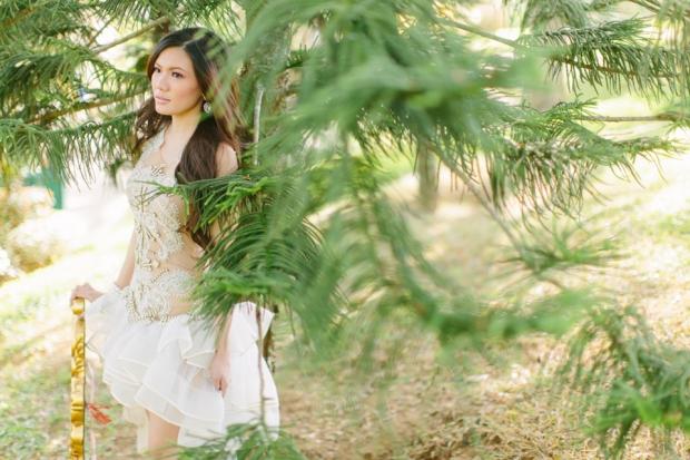 Cuckoo Cloud Concepts Alexis Mendoza Debut Photoshoot Whimsical Fairytale Princess and the Pea Pod Flowers Cebu Stylist -20