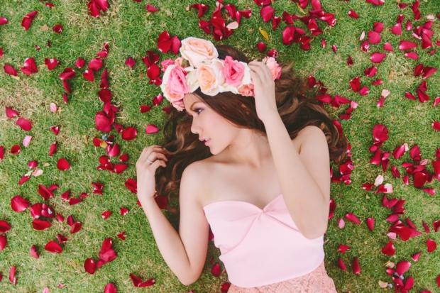 Cuckoo Cloud Concepts Alexis Mendoza Debut Photoshoot Whimsical Fairytale Princess and the Pea Pod Flowers Cebu Stylist -28