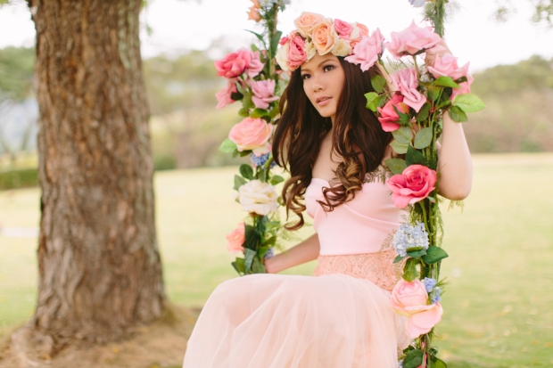 Cuckoo Cloud Concepts Alexis Mendoza Debut Photoshoot Whimsical Fairytale Princess and the Pea Pod Flowers Cebu Stylist -34