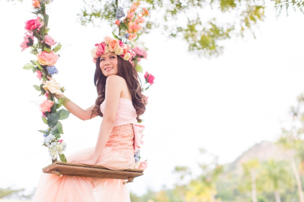 Cuckoo Cloud Concepts Alexis Mendoza Debut Photoshoot Whimsical Fairytale Princess and the Pea Pod Flowers Cebu Stylist -36