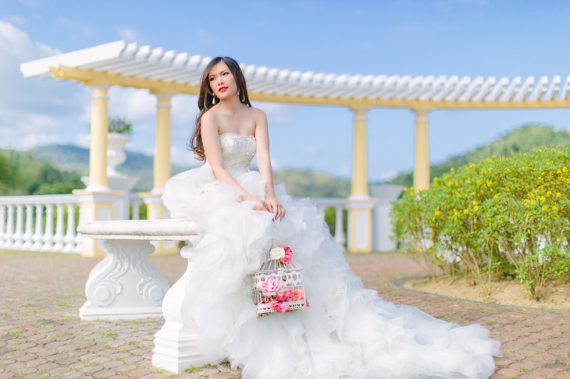 Cuckoo Cloud Concepts Alexis Mendoza Debut Photoshoot Whimsical Fairytale Princess and the Pea Pod Flowers Cebu Stylist -40