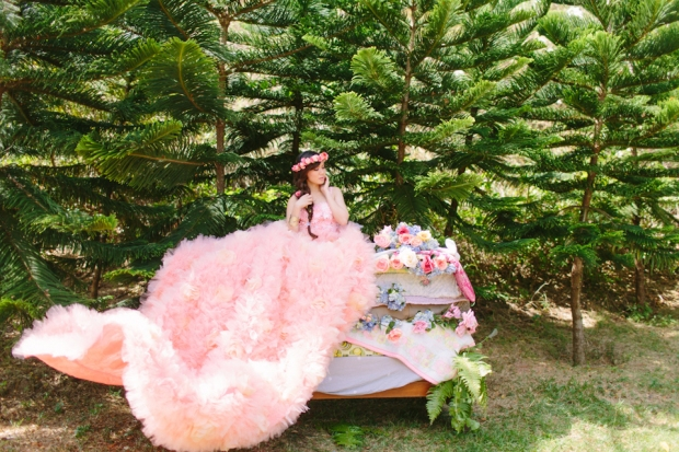 Cuckoo Cloud Concepts Alexis Mendoza Debut Photoshoot Whimsical Fairytale Princess and the Pea Pod Flowers Cebu Stylist -44