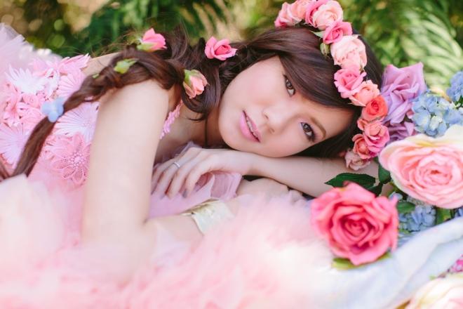 Cuckoo Cloud Concepts Alexis Mendoza Debut Photoshoot Whimsical Fairytale Princess and the Pea Pod Flowers Cebu Stylist -45