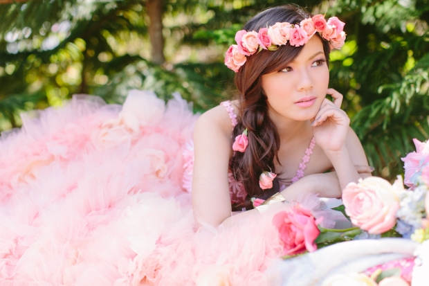 Cuckoo Cloud Concepts Alexis Mendoza Debut Photoshoot Whimsical Fairytale Princess and the Pea Pod Flowers Cebu Stylist -46