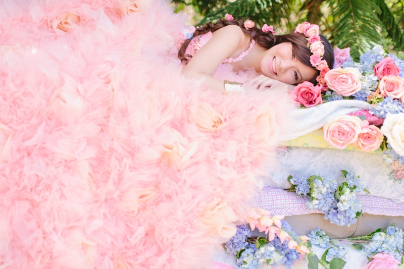 Cuckoo Cloud Concepts Alexis Mendoza Debut Photoshoot Whimsical Fairytale Princess and the Pea Pod Flowers Cebu Stylist -47