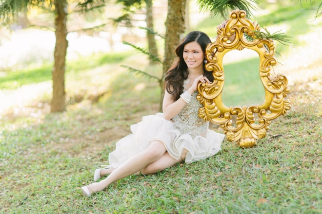 Cuckoo Cloud Concepts Alexis Mendoza Debut Photoshoot Whimsical Fairytale Princess and the Pea Pod Flowers Cebu Stylist -48