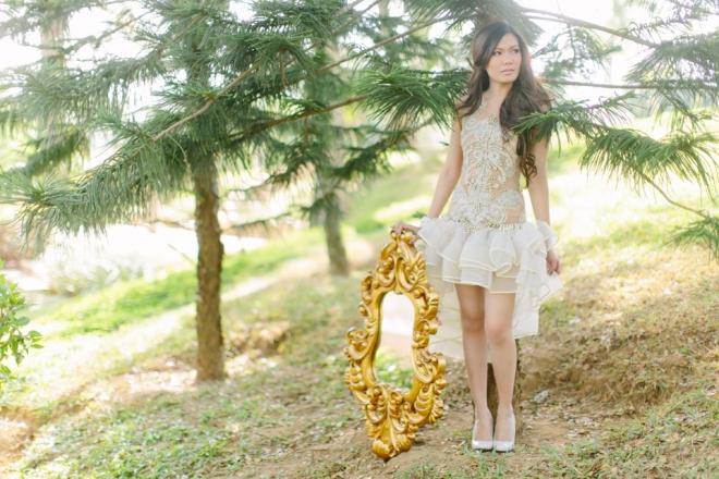 Cuckoo Cloud Concepts Alexis Mendoza Debut Photoshoot Whimsical Fairytale Princess and the Pea Pod Flowers Cebu Stylist -49