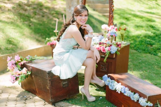 Cuckoo Cloud Concepts Alexis Mendoza Debut Photoshoot Whimsical Fairytale Princess and the Pea Pod Flowers Cebu Stylist -50