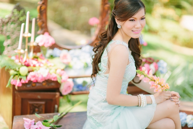 Cuckoo Cloud Concepts Alexis Mendoza Debut Photoshoot Whimsical Fairytale Princess and the Pea Pod Flowers Cebu Stylist -51
