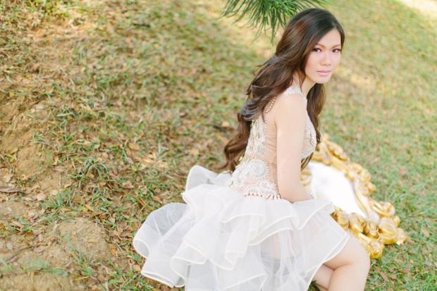 Cuckoo Cloud Concepts Alexis Mendoza Debut Photoshoot Whimsical Fairytale Princess and the Pea Pod Flowers Cebu Stylist -53