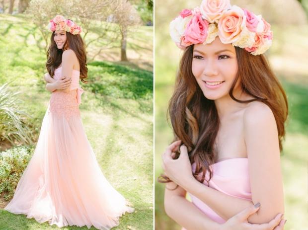 Cuckoo Cloud Concepts Alexis Mendoza Debut Photoshoot Whimsical Fairytale Princess and the Pea Pod Flowers Cebu Stylist -57