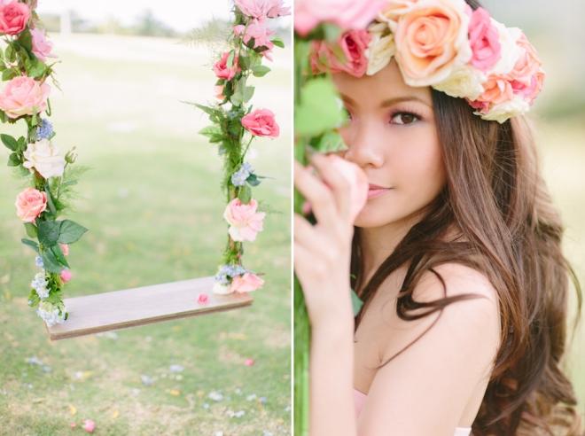 Cuckoo Cloud Concepts Alexis Mendoza Debut Photoshoot Whimsical Fairytale Princess and the Pea Pod Flowers Cebu Stylist -58