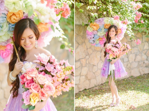 Cuckoo Cloud Concepts Alexis Mendoza Debut Photoshoot Whimsical Fairytale Princess and the Pea Pod Flowers Cebu Stylist -59