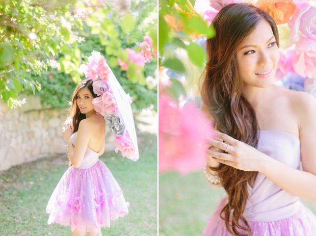 Cuckoo Cloud Concepts Alexis Mendoza Debut Photoshoot Whimsical Fairytale Princess and the Pea Pod Flowers Cebu Stylist -61