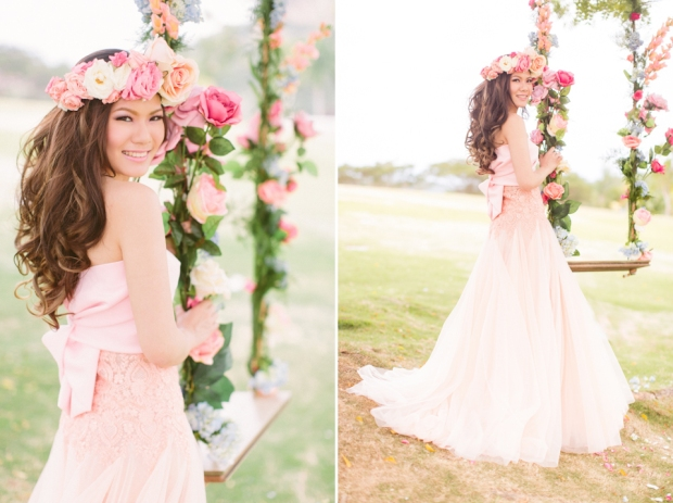 Cuckoo Cloud Concepts Alexis Mendoza Debut Photoshoot Whimsical Fairytale Princess and the Pea Pod Flowers Cebu Stylist -62