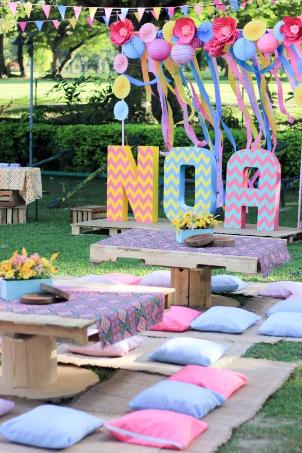 Cuckoo Cloud Concepts Noa Chiongbian First Birthday Noachelle Coachella Inspired Bohemian Teepee Paradise Village Park-10