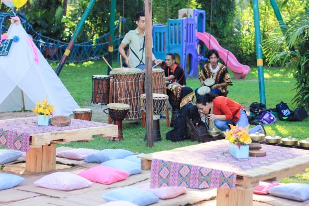 Cuckoo Cloud Concepts Noa Chiongbian First Birthday Noachelle Coachella Inspired Bohemian Teepee Paradise Village Park-7