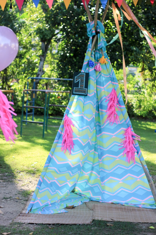 Cuckoo Cloud Concepts Noa Chiongbian First Birthday Noachelle Coachella Inspired Bohemian Teepee Paradise Village Park-9