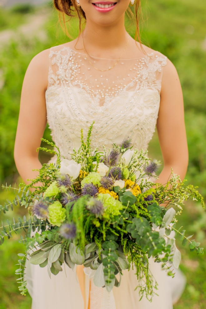 Cuckoo Cloud Concepts Sam and Marge Rustic Wedding Organic Foliage Naked Cake Neutrals -20
