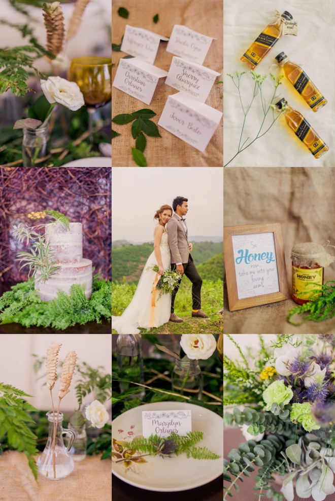 Cuckoo Cloud Concepts Sam and Marge Rustic Wedding Organic Foliage Naked Cake Neutrals -8