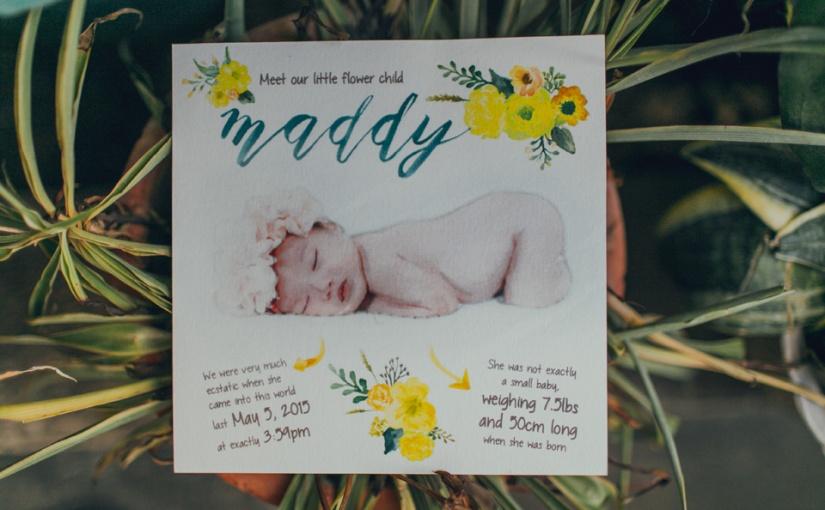 Flower Child: MadisonBaptism