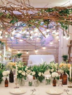 cefb72e87631 Rustic Greenery  Verdi   Fenn Wedding