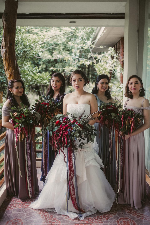 Cuckoo Cloud Concepts Jubail & Rose Moody Gothic Burgundy Bohemian Wedding Cebu Event Stylist 03cuckoocloudconcepts