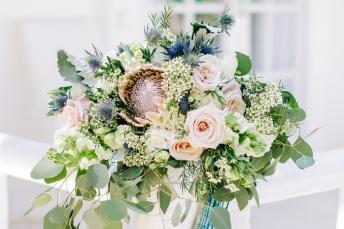 Neutrals & Blush for Elsie's Seaside Bohemian Wedding